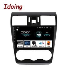 "Idoing "" Автомобильный Android 8,1 радио GPS мультимедийный плеер для Subaru Forester XV WRX 2013- 4G+ 64G 8 Core навигация no 2 din dvd"