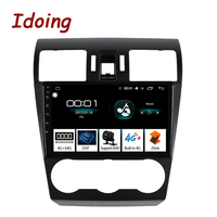 Idoing 9Car Android 8.1 Radio GPS Multimedia Player For Subaru Forester XV WRX 2013 2015 4G+64G 8 Core Navigation no 2 din dvd