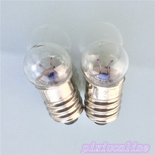 2pcs J152Y  2.5V Round Head Small Bulb Lignt Beads DIY Circuit Making for Teaching and Experiment High Quality On Sale