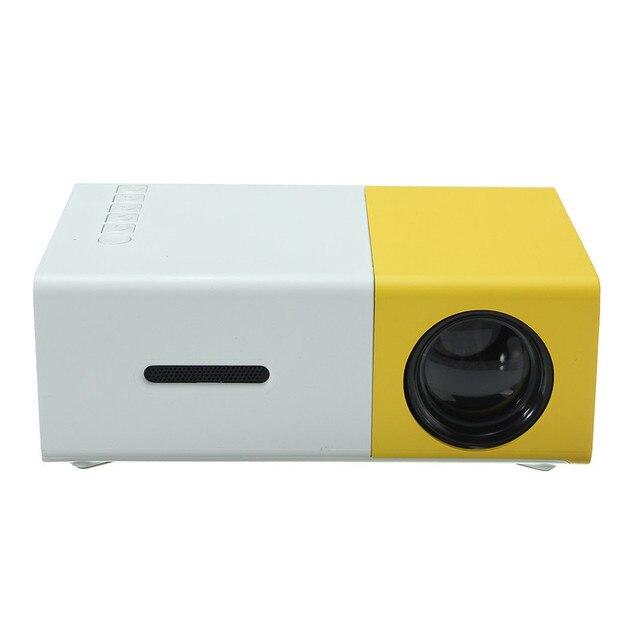LED Портативный Проектор 400LM 3.5 мм Аудио 320x240 Пикселей HDMI USB Мини Проектор Домашний Мультимедийный Кинотеатр Игрок Поддержка 1080 P