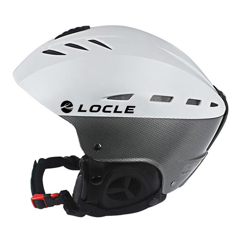 LOCLE CE Certification Ski Helmet Breathable Ultralight Skiing Helmet ABS Outer Snow Skiing Snowboard Skateboard Helmet