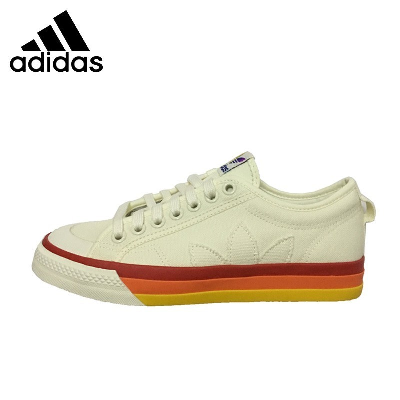 <font><b>Adidas</b></font> <font><b>Original</b></font> Nizza Pride Man Skateboarding <font><b>Shoes</b></font> Breathable Anti-slip Sneakers EF2319 image