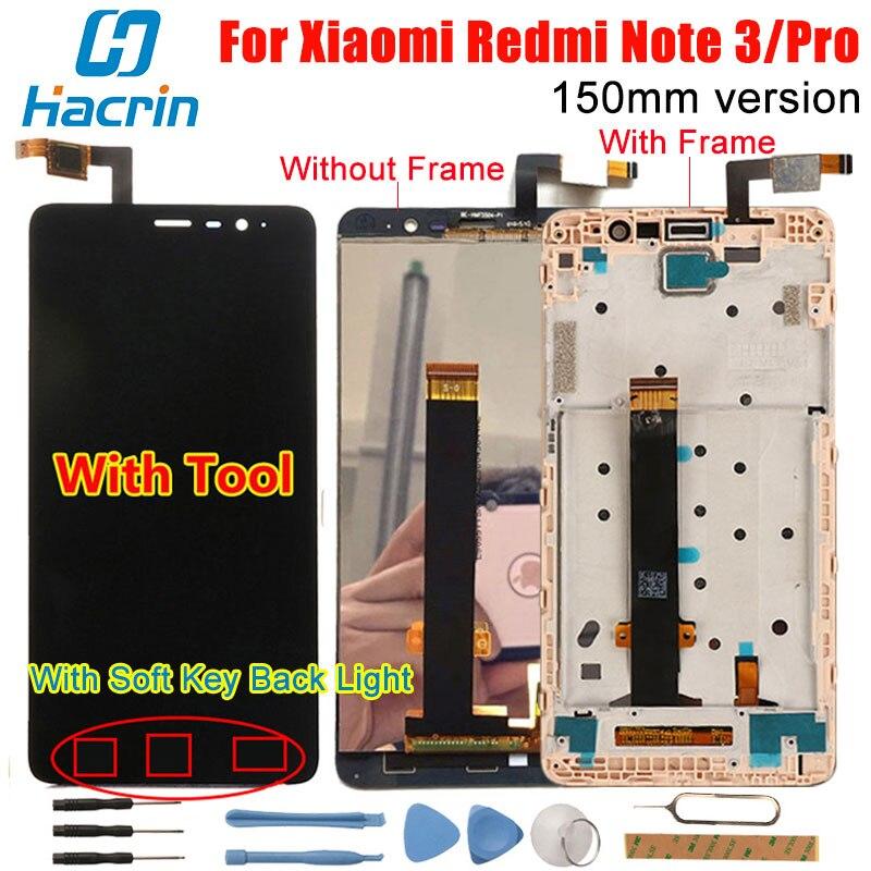 Xiaomi Redmi Note 3 Screen 100 Original LCD Display Touch Panel Digitizer Glass For Xiaomi Hongmi