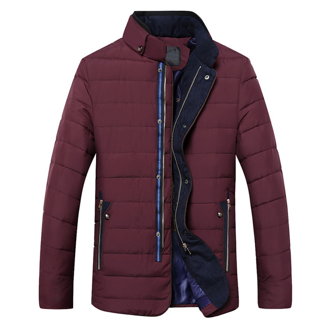 Barato al por mayor 2016 nuevo Invierno pourpoint cálida chaqueta de algodón acolchado cuello
