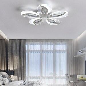 Image 4 - Moderne LED Decke lichter Mit Fernbedienung Für Wohnzimmer Restaurant Fitting Einstellen 3 Farben Für Schlafzimmer Küche Panel Lampe