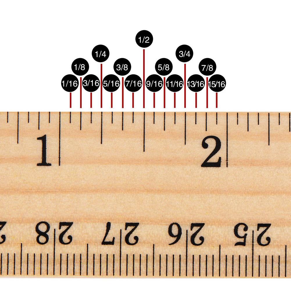 Log Briefpapier 15 Cm 20 Cm 30 Cm Houten Liniaal Leren
