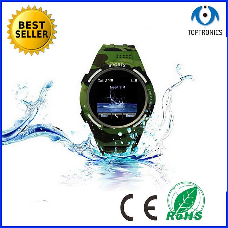 2016 hoge kwaliteit ourdoor waterdichte pc case man vrouw smartwatch horloge ondersteuning FM Radio sim kaart camera voor ios android