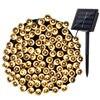 LederTEK Solar Christmas Lights 72ft 22m 200 LED 8 Modes Solar Fairy String Lights For Outdoor