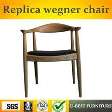 FGHGF U BEST Replica Wishbone Dining Chair Restaurant Wood