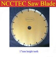 [17 мм высота сегмента] 9 »NCCTEC PREMIUM алмазной пилы | 230 мм желтый бетон гранит мрамор резки колеса | БЕСПЛАТНАЯ доставка
