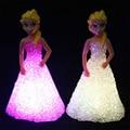 Рождество романтический ночные огни светодиодных изменение цвета новизна спальня night light светодиодные лампы батареи night light для детей