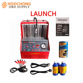 Launch CNC602A injector cleaner and tester With English Panel