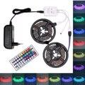 Цветная (RGB) Светодиодные ленты Водонепроницаемый 5050 USB Светодиодные ленты светодиодный лента/полосы света 5 м 10 м гибкий светодиодный лента ...