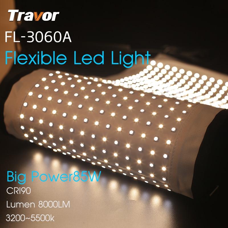 Travor Flexible led video light Bi-Color FL-3060A tamaño 30 * 60CM - Cámara y foto - foto 5
