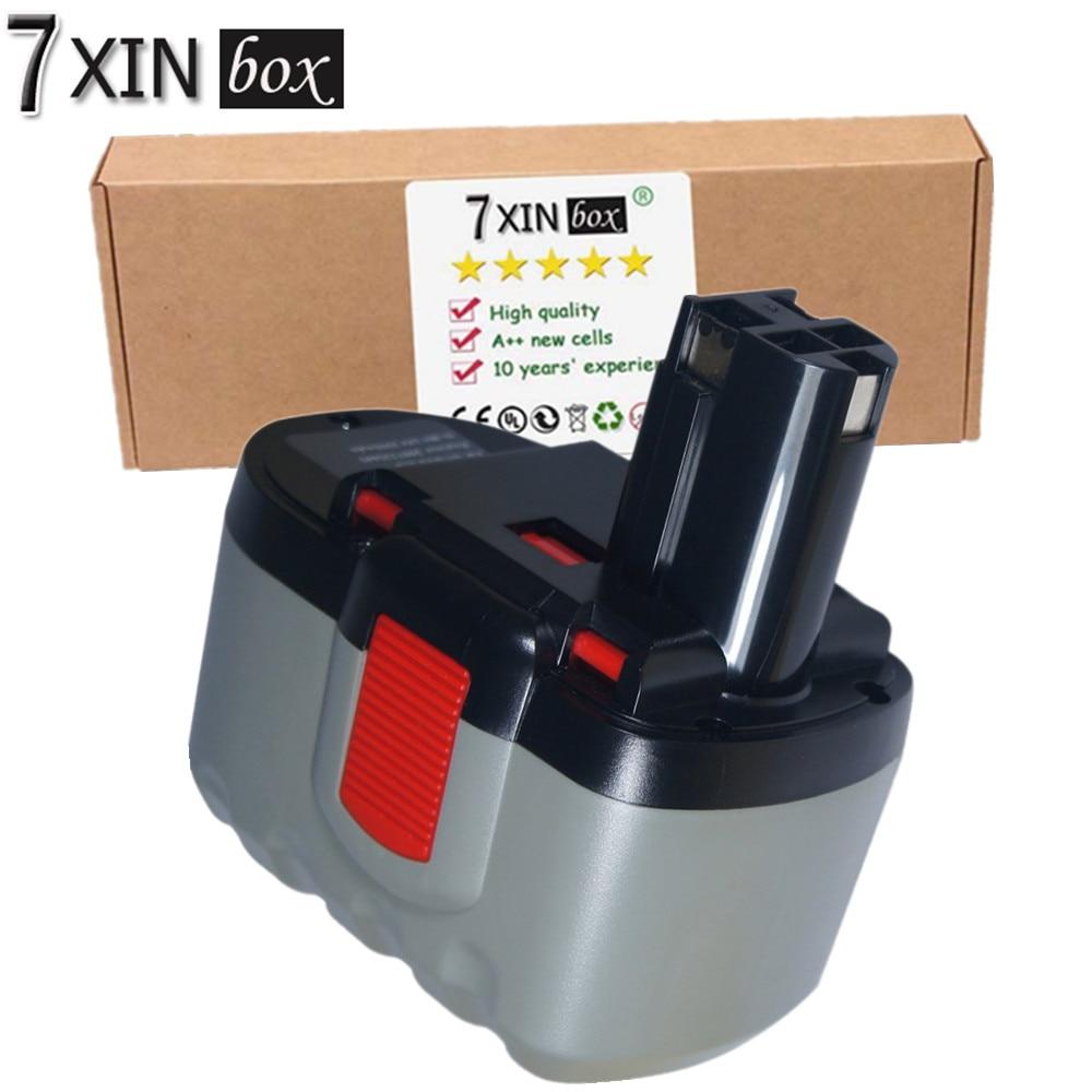 7XINbox 24V 3.0AH Ni-MH Battery For BOSCH B-8230 BAT030 BAT031 BAT240 BAT299 BH-2424 BTP1005 2607335268 125-2411524 12524-03 new 24v ni mh 3000mah replacement power tool battery for bosch 2 607 335 446 2 607 335 268 bat299 bat240 bat031 bat030