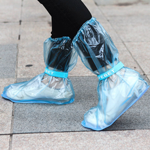 Shoe Cover Reusable Overshoes Rainboots Outdoor Waterproof Thicken Non-Slip PVC Adult Children
