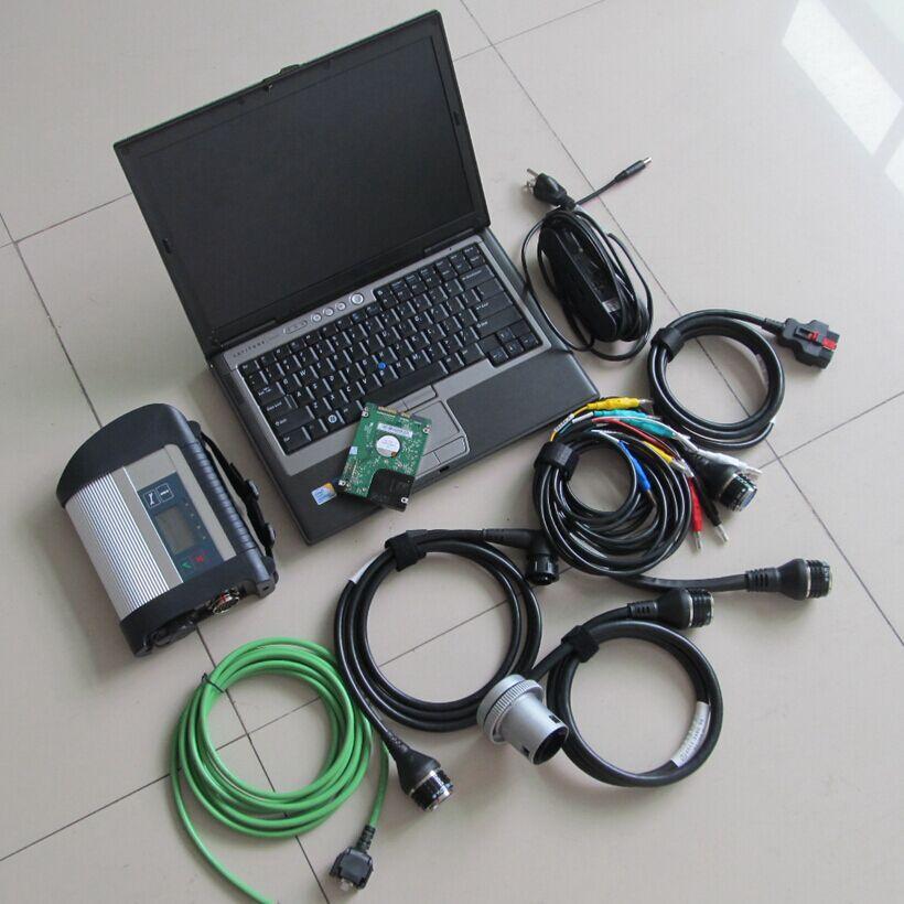 Nouveau sd connect compact 4 mb star c4 logiciel 2018.12 v installé dans d630 ordinateur portable 4g win7 système avec mb étoiles sd c4 diagnositc outil