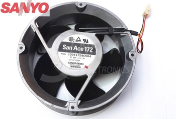 For Sanyo Blowers 109E1724C504 1751 17cm 170mm DC 24V 2.3A Full Circle server inverter axial cooling fans