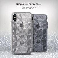 Ringke Air Prism блеск Чехол для iPhone х Искра 3D геометрический стильный узор ультра легкий защитный чехол