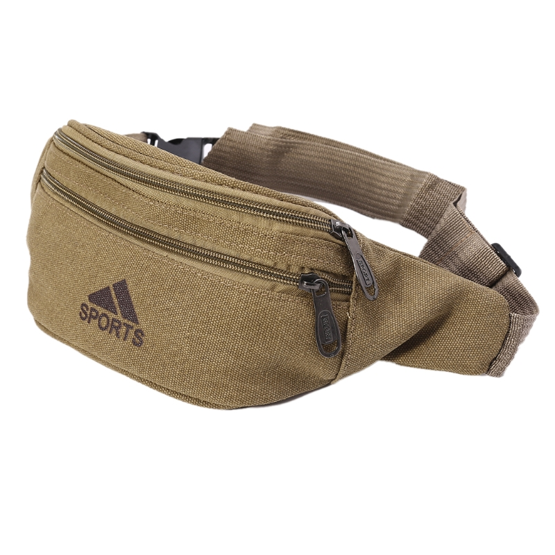 New Arrive Durable Men Fanny Waist Pack Belt Hip Bum Military Bag Pouch