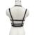 Tamaño grande sujetador para gótico sujetador arnés negro Bondage cuerpo jaula chaleco diseño taza llena cuerpo forma la ropa interior envío gratis