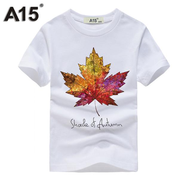 A15 Boy t shirts for children Short Sleeve 3D T-shirt for Girls Kids Top Tees Cotton T Shirt for Summer Teens Tees 10 12 14 Year