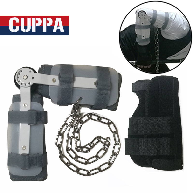 New Cuppa Pool Snooker Training Cue Arm And Wrist Integrated Orthotics Appliance