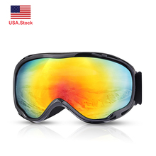 Ski Snowboard Goggles Mountain Skiing Eyewear UV400 Protection Double Lens Snowmobile Winter Snow Sport Glasses US.Stock все цены