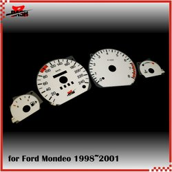 DASH EL Glow Gauge for Ford Mondeo 98-01 MK2 Full Glow type Blue Green interchangeable Grade B product