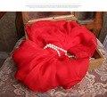 100% Pañuelos De Seda para las mujeres 2016 nuevo de la llegada del invierno cálido chino Rojo bufanda de marca de lujo de seda bufandas Árabe hijab jersey Wrap