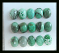 Natural Stone Sale15pcs Fashion Turquoise Oval Cabochons,8*6*3mm,3.7g natural turquoise cabochons semiprecious stone  beads