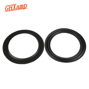 Image 3 - Ghxamp 2PCS 10 Inch 245mm Cloth Speaker Surround Side Two 2 Fold Ring Suspension Stage Subwoofer Repairs