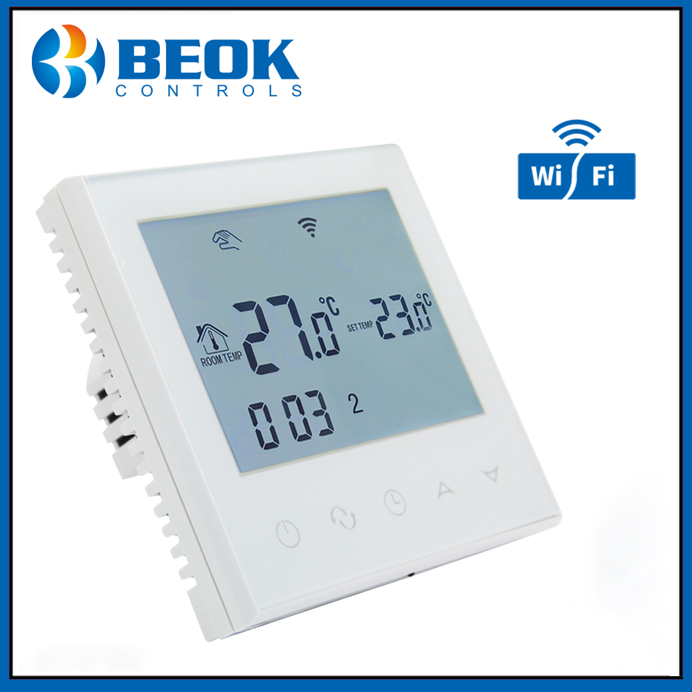 Beok TDS21WIFI WP Digital Thermoregulator Weekly Programmable Smart Thermostat for Water Heating