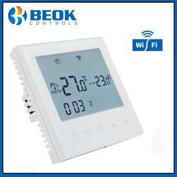 Beok TDS21WIFI-WP цифровой терморегулятор Еженедельный программируемый умный термостат для нагрева воды