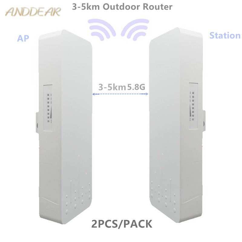9344 9331 230 3-5km Chipset WIFI Router Repeater CPE Long Range300Mbps 5.8G Outdoor AP Router  AP Bridge Client Router Repeater