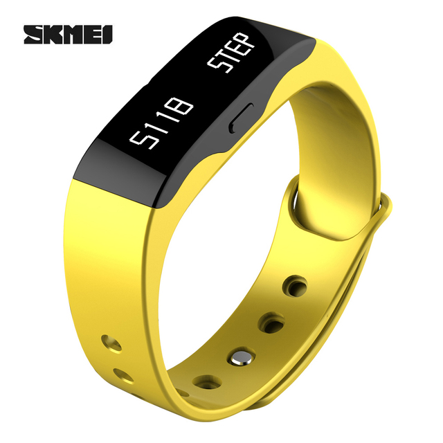 SKMEI Smart Wristband L28T Sport Watches Men LED Digital Waterproof Fitness Sleep Tracker Smart Electronics Bluetooth Watch