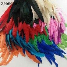 12 ~ 14 дюймов 30-35 см петушиные перья или куриное перо