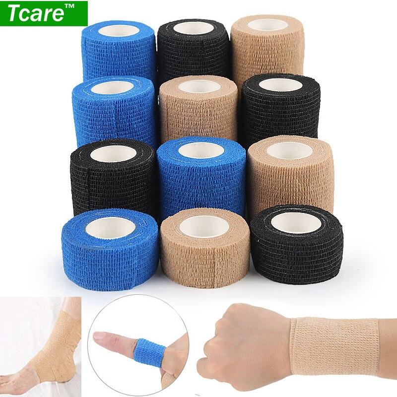 Sport Protect Tape Waterproof Kinesio Athletic Kinesiology Elastic Bandage Self Adhesive Wrap Knee Muscle Kinesio Tape