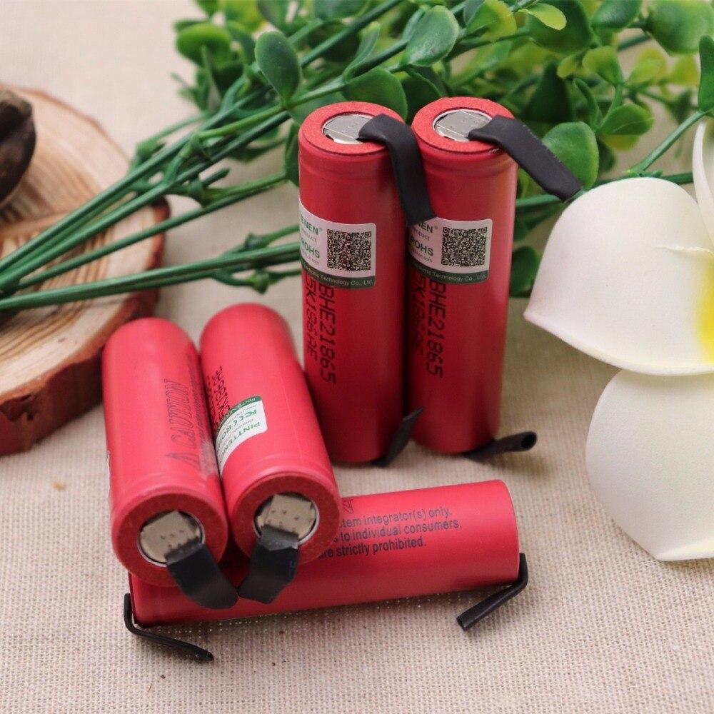 где купить New PINTTENEN Original for LG 18650 he2 3.6V Battery 2500mAh 20A 35A high drain HE2 18650 he2 battery power tools DIY Nickel дешево