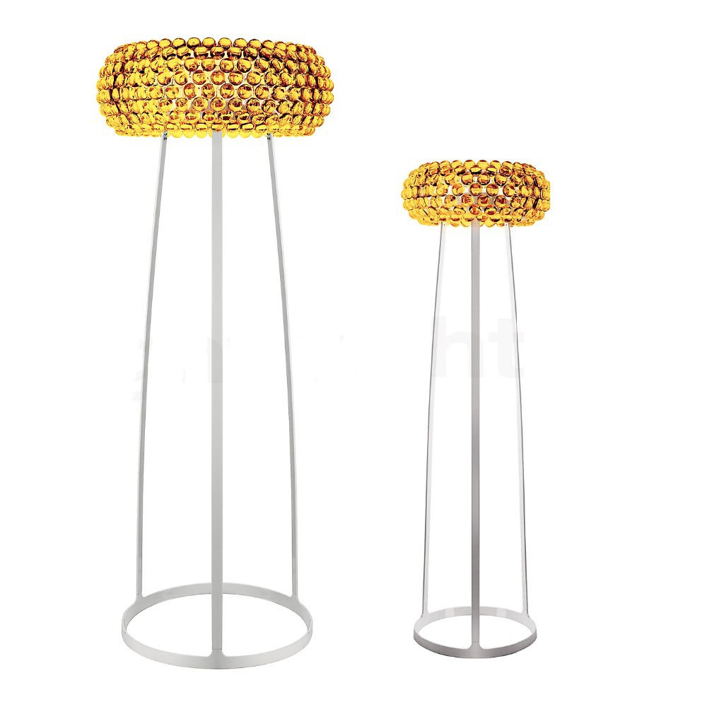 65 cm/25.59 ''moderne Foscarini Caboche lampadaire acrylique décoratif lampadaire chambre lampara colgantes 110-240 V lampadaire