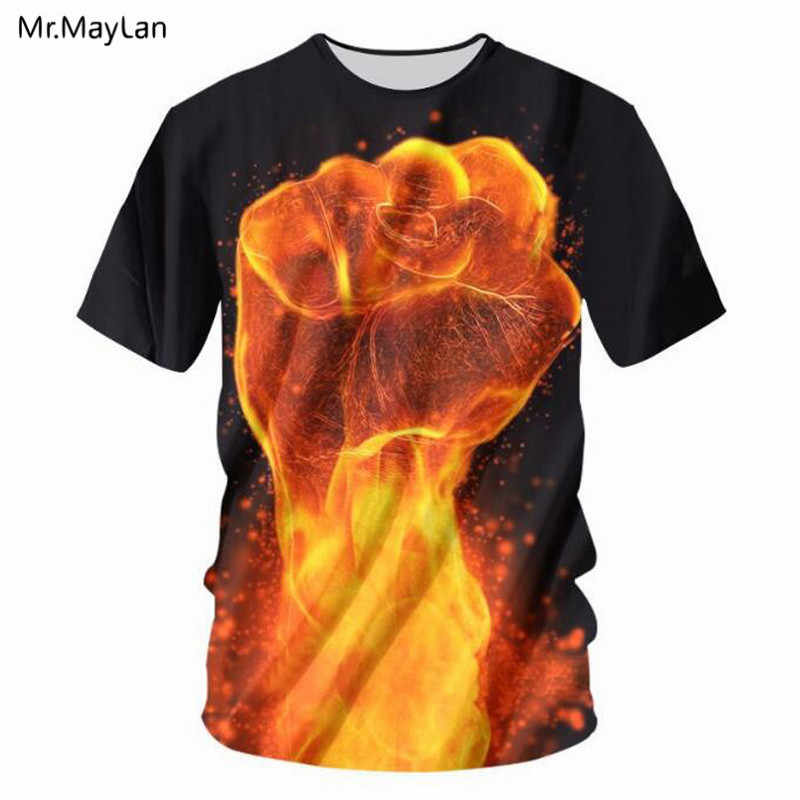 1ffc9f6e2 Detail Feedback Questions about Cool Design Fire Flame Hand Fist 3D ...