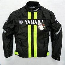 Verão Jaqueta de Andar de Moto De Corrida De Proteção Para Yamaha MotoGP Corrida Roupas Amarelo Preto