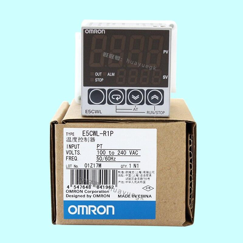 Первоначально подлинное OMRON электронный термостат цифровой регулятор E5CWL-R1TC E5CWL-Q1TC E5CWL-R1P E5CWL-Q1P