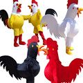 2015 Hot sale chicken Mascot Costume for Adult Fancy Dress Party Halloween Costume free shipping