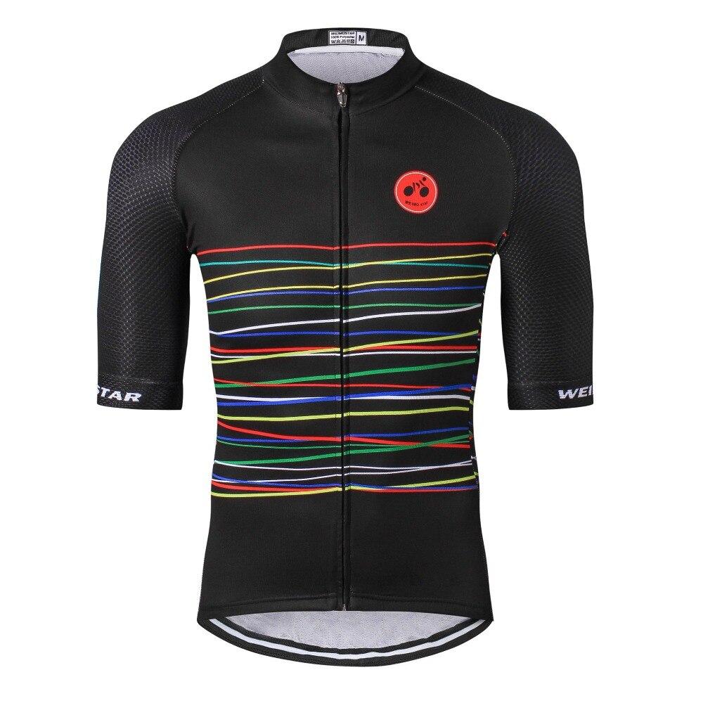 Muži Cyklistický dres ProTeam Maillot Ciclismo Ropa Barevný řetěz mtb Bike Jersey Cyklistické oblečení