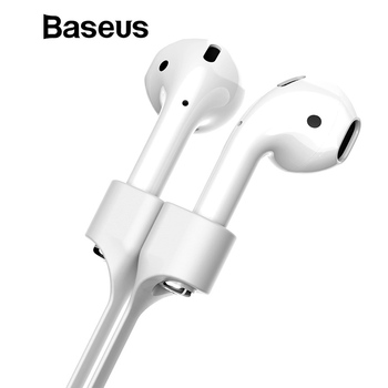 Baseus Magnetic Earphone Strap For Airpods Anti Lost Strap Magnetic String Rope For Bluetooth TWS earphones Silicone Cable Cord Earphone Accessories