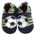 Envío gratis 8 par/lote garantizado 100% suela blanda zapatos de bebé de cuero bebé primer caminante dr0007-24