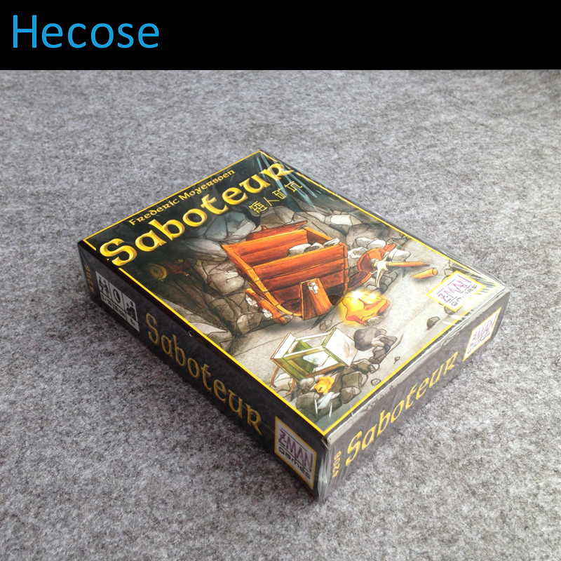 Newest High Quality With English Instructions Saboteur 1 Saboteur 2