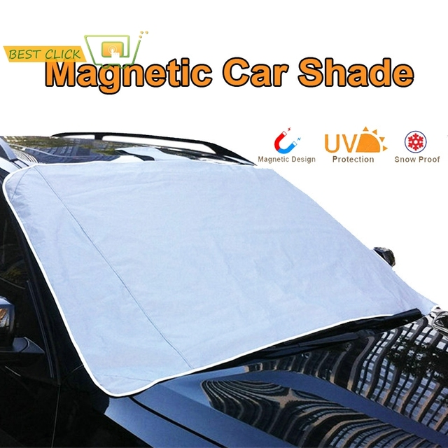 07b44ff1e70 Accessories MAGNETIC Auto Snow Cover Car Windshield Windscreen Shade Sunshade  Sun Visor Blind Front Window Screen Ice Frost