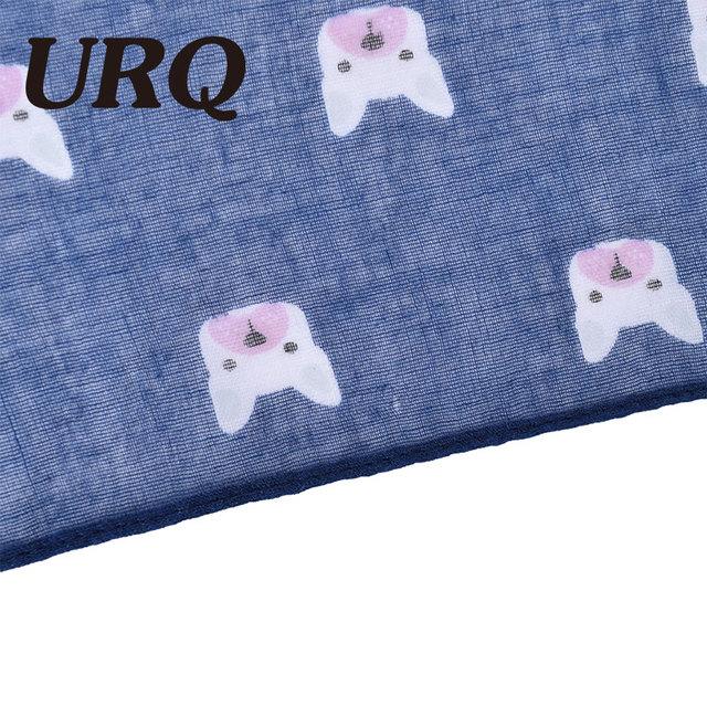 2017 new arrival dog print long spring scarf for women big size lady shawl hijab luxury brand design